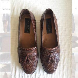 2226986994f ... Mezlan genuine crocodile loafers ...